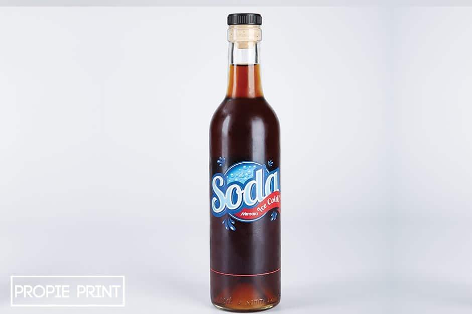 Wir bedrucken im Digitaldruck Bierflaschen